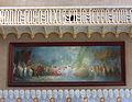 108 Hospital de Sant Pau, edifici d'Administració, sala d'actes, pintura d'Aleix Clapés.JPG