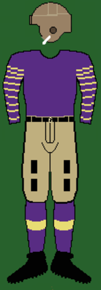 1913 Sewanee Tigers football team - Image: 10sewaneeuniform