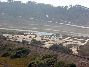 Los Peñasquitos Lagoon - North Beach Parking Lot