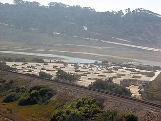 Los Peñasquitos Lagoon - North Beach Parking Lot