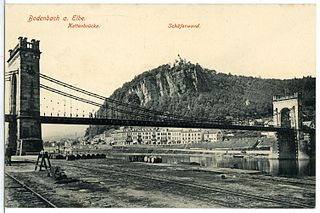 Empress Elisabeth Bridge Historic bridge over the Elbe