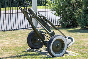 120 mm mortar model 1938 in the Great Patriotic War Museum 5-jun-2014.jpg
