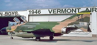 158th Fighter Wing - 34th Fighter-Interceptor Squadron - McDonnell F-4D-29-MC Phantom 65-0793, 1983