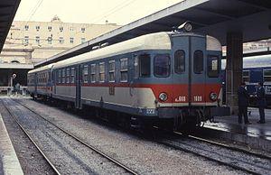 FS Class ALn 668 - Image: 14.11.95 Palermo Centrale A Ln 668.1609