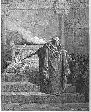 English: Mattathias and the Apostate (1 Macc. ...