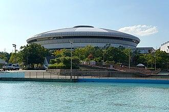 2018 FIVB Volleyball Women's World Championship - Image: 151017 Kobe Sports Park Kobe Japan 14n
