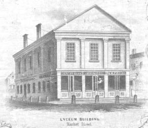 Timeline of Lynn, Massachusetts - Lyceum building