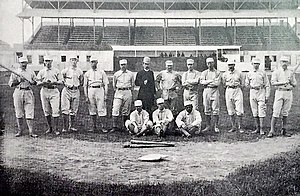 1884 Providence Grays season - 1884 World Series Champion Providence Grays