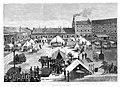 1887-01-30, La Ilustración Española y Americana, Visita de la reina regente al cuartel de los Docks y factorías militares el 19 del actual, Comba, Rico.jpg