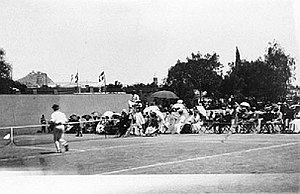 Dionysios Kasdaglis - The men's singles final in 1896, which Kasdaglis lost to Boland