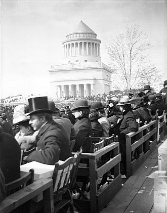 Grant's Tomb - Grant's Tomb on inauguration day, April 27, 1897