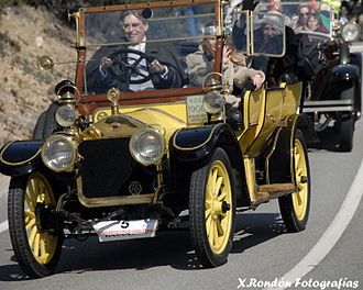 John Siddeley, 1st Baron Kenilworth - Image: 1908 Wolseley Siddeley Rally BCN Sitges 6826437878