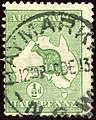 1913 Half d Australia Haymarket SG1.jpg