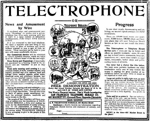 1913 San Francisco Telephone Herald demonstration advertisement.JPEG
