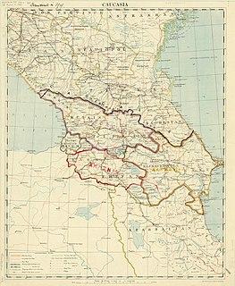 Transcaucasian Democratic Federative Republic Federation in 1918