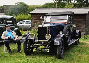 Morris Cowley - Two-seater first registered 2 May 1927