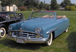 Lincoln Cosmopolitan - Image: 1949 Lincoln Cosmopolitan convertible