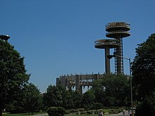 1964 New York World's Fair Pavilion from the within Flushing Meadows-Corona Park.jpg