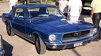 Ford Mustang (first generation) - 1968 Ford Mustang hardtop