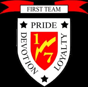 1st Battalion, 7th Marines - 1st Battalion, 7th Marines insignia