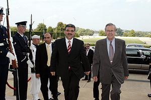 Hood event - On 2003-07-24, Gül and Rumsfeld met at the Pentagon.
