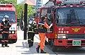 2005년 5월 9일 서울특별시 강남구 코엑스 재난대비 긴급구조 종합훈련 리허설 DSC 0072.JPG