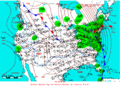 2006-01-18 Surface Weather Map NOAA.png
