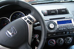 Honda Fit - US-spec interior