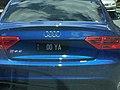 2007 Queensland registration plate 00 YA vanity.jpg