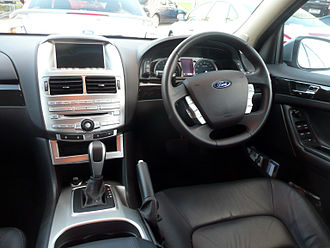 Ford Falcon (FG) - Interior, Falcon G6E