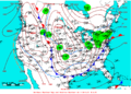2009-01-15 Surface Weather Map NOAA.png