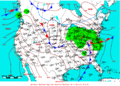 2009-04-20 Surface Weather Map NOAA.png