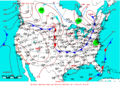 2009-05-31 Surface Weather Map NOAA.png
