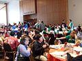 2009 Academic Decathlon teams during break.jpg