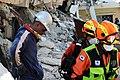 2010년 중앙119구조단 아이티 지진 국제출동100118 중앙은행 수색재개 및 기숙사 수색활동 (251).jpg