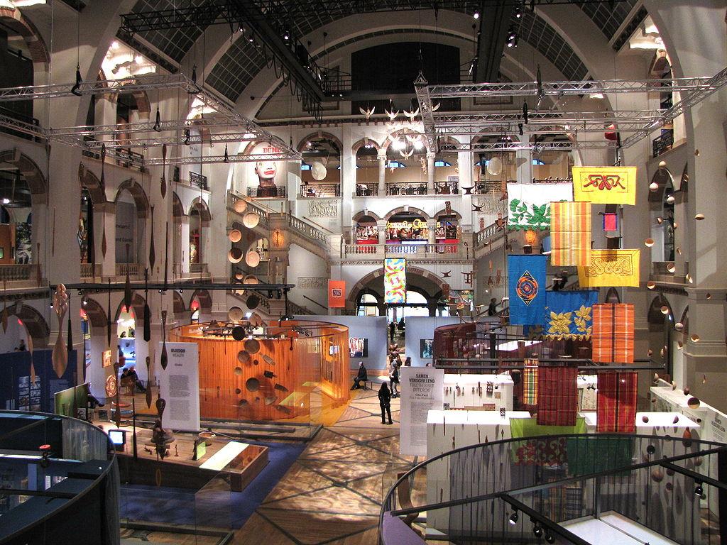 Intérieur du musée des Tropiques ou Tropen Museum à Amsterdam - Photo de Ziko