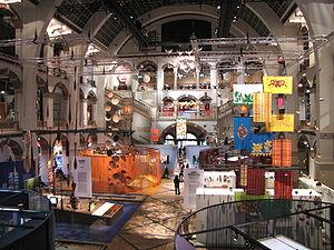 Tropenmuseum - Interior of the museum.
