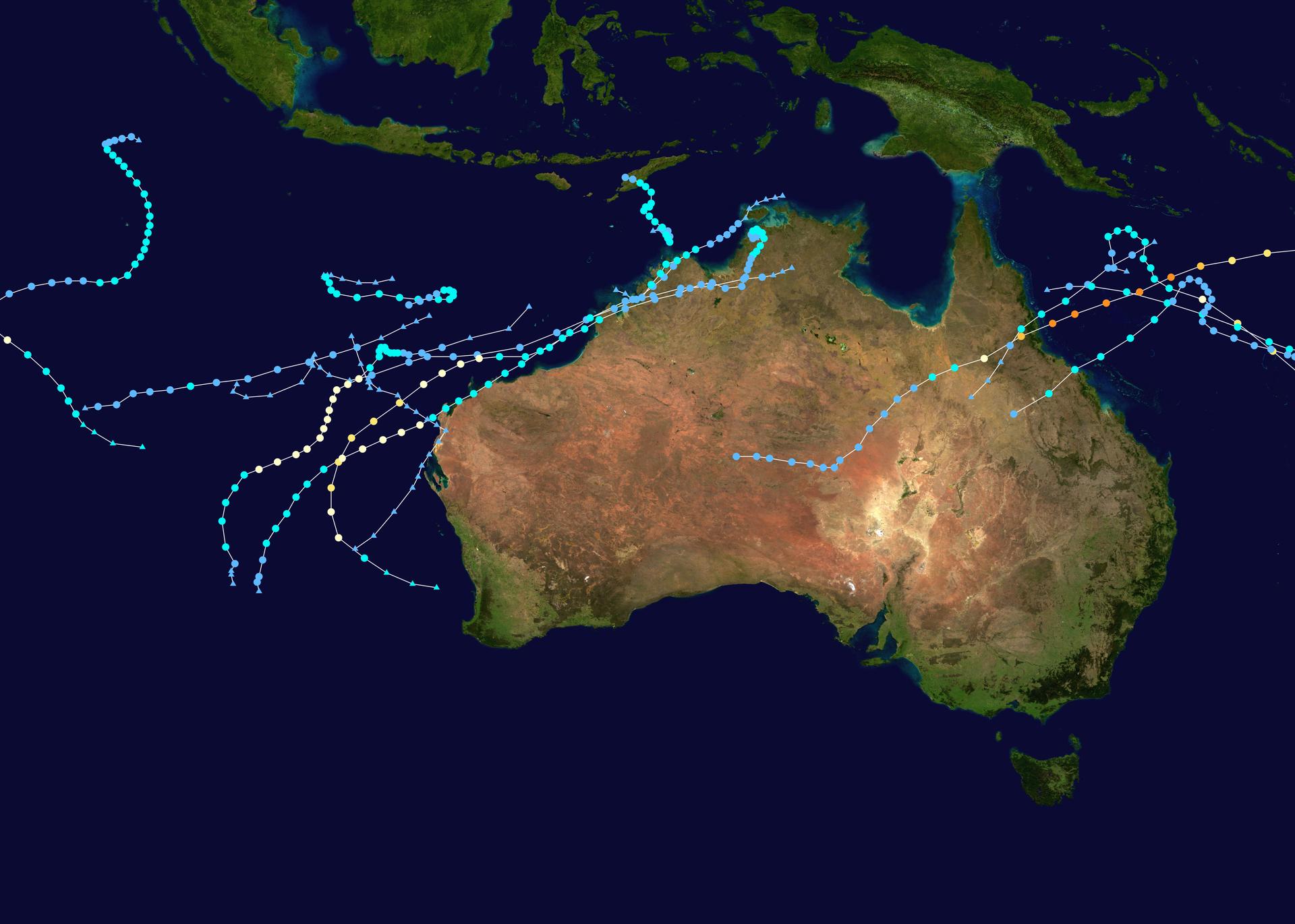 2010 11 Australian Region Cyclone Season Wikipedia