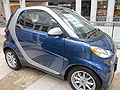 2010 blue Smart ForTwo Passion Coupe side.JPG