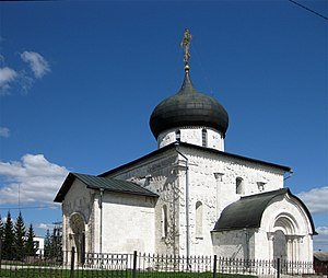 Yuryev-Polsky (town) - St. George's Cathedral (1230-1234) was the last stone church built in Russia before the Mongol invasion