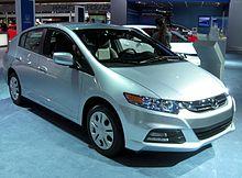 2012 Honda Insight LX (US)