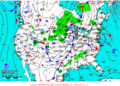 2013-01-12 Surface Weather Map NOAA.png