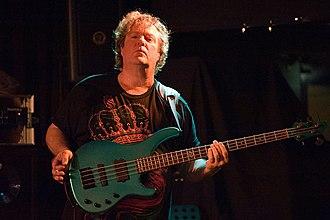 Stuart Hamm - Hamm performing with the Carl Verheyen Band at Paradox in Tilburg (November 16, 2013)