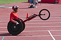 2013 IPC Athletics World Championships - 26072013 - Hongzhuan Zhou of China during the Women's 400m - T53 first semifinal 1.jpg