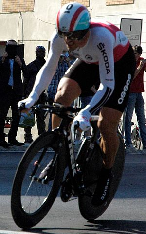 2013 UCI Road World Championships – Men's time trial - Fabian Cancellara won bronze.