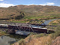 2014-06-21 15 47 12 Train crossing a railway bridge over the Humboldt River in Palisade, Nevada.JPG