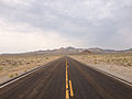2014-07-17 10 28 39 View west along U.S. Route 6 about 93.0 miles east of the Esmeralda County Line in Nye County, Nevada.JPG