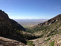 2014-07-25 16 57 42 View down Hennen Canyon towards Spring Creek, Nevada.JPG