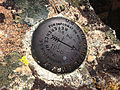2014-10-09 10 29 30 United State Geological Survey Reference Mark Number 2 at the summit of Granite Peak in Humboldt County, Nevada.JPG