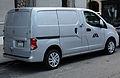 2014 Nissan NV200 SV van, rear right.jpg